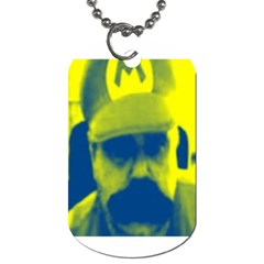 600 By 600 Image Dog Tag (two Sided)