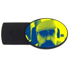 600 By 600 Image 4GB USB Flash Drive (Oval)