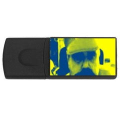 600 By 600 Image 4GB USB Flash Drive (Rectangle)
