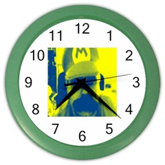 600 By 600 Image Wall Clock (Color)