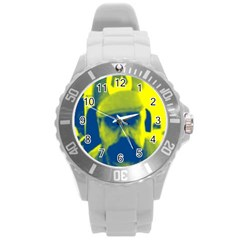 600 By 600 Image Plastic Sport Watch (Large)