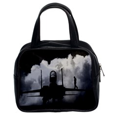 Wing Walk Classic Handbag (Two Sides)