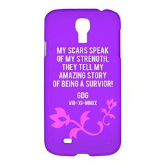 Scar Quote Samsung Galaxy S4 I9500 Hardshell Case