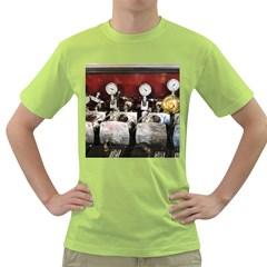 Willytrunk Mens  T-shirt (Green)