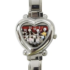Willytrunk Heart Italian Charm Watch