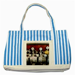 Willytrunk Blue Striped Tote Bag