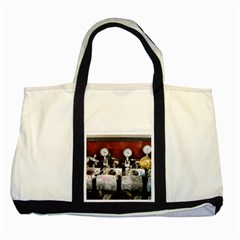 Willytrunk Two Toned Tote Bag