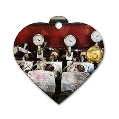 Willytrunk Dog Tag Heart (Two Sided)