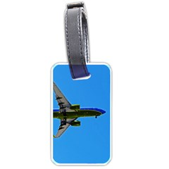 Plane Luggage Tag (One Side)