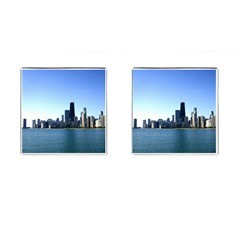 Chicago Skyline Cufflinks (Square)