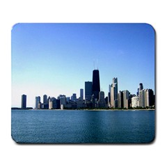 Chicago Skyline Large Mouse Pad (Rectangle)