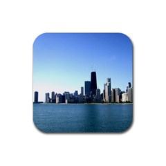 Chicago Skyline Drink Coaster (Square)