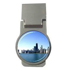 Chicago Skyline Money Clip (round)