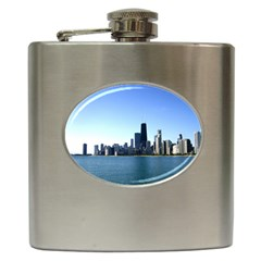Chicago Skyline Hip Flask