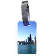 Chicago Skyline Luggage Tag (Two Sides)