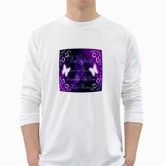 Hope Matters Men s Long Sleeve T Shirt (white)