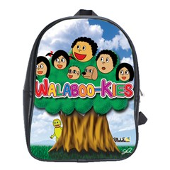 Walabookies-cover (1) School Bag (XL)
