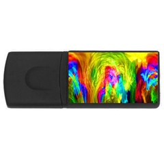 Painted Forrest 4GB USB Flash Drive (Rectangle)