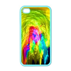 Painted Forrest Apple Iphone 4 Case (color)