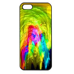 Painted Forrest Apple Iphone 5 Seamless Case (black)