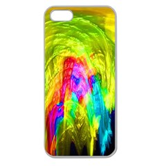 Painted Forrest Apple Seamless iPhone 5 Case (Clear)