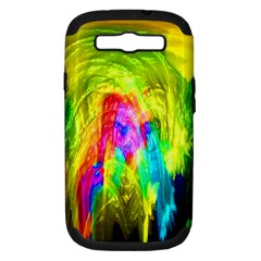 Painted Forrest Samsung Galaxy S Iii Hardshell Case (pc+silicone)