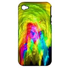 Painted Forrest Apple Iphone 4/4s Hardshell Case (pc+silicone)
