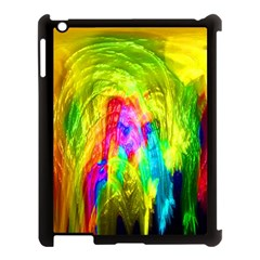 Painted Forrest Apple Ipad 3/4 Case (black)