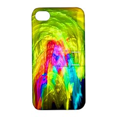 Painted Forrest Apple Iphone 4/4s Hardshell Case With Stand