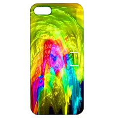 Painted Forrest Apple iPhone 5 Hardshell Case with Stand