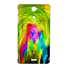 Painted Forrest Sony Xperia TX Hardshell Case