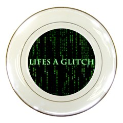 Lifes A Glitch Porcelain Display Plate