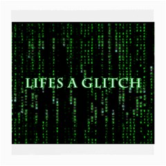 Lifes A Glitch Glasses Cloth (medium, Two Sided)