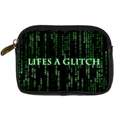 Lifes A Glitch Digital Camera Leather Case