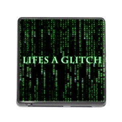 Lifes A Glitch Memory Card Reader with Storage (Square)
