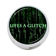 Lifes A Glitch 4-Port USB Hub (Two Sides)