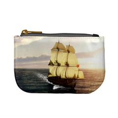 French Warship Coin Change Purse