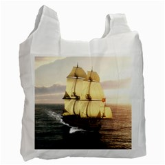 French Warship Recycle Bag (Two Sides)