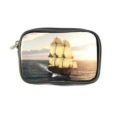 French Warship Coin Purse