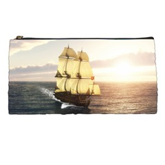 French Warship Pencil Case