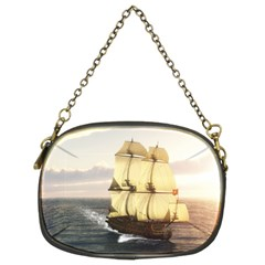 French Warship Chain Purse (Two Side)