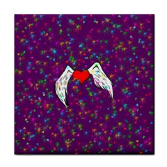 Your Heart Has Wings so Fly - Updated Ceramic Tile