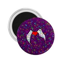 Your Heart Has Wings So Fly   Updated 2 25  Button Magnet