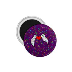 Your Heart Has Wings so Fly - Updated 1.75  Button Magnet