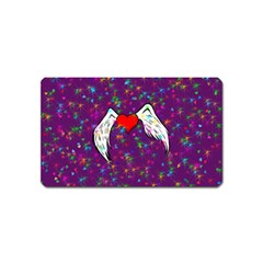 Your Heart Has Wings So Fly   Updated Magnet (name Card)