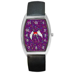 Your Heart Has Wings so Fly - Updated Tonneau Leather Watch