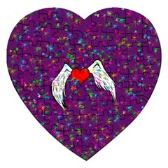 Your Heart Has Wings so Fly - Updated Jigsaw Puzzle (Heart)