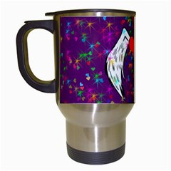 Your Heart Has Wings so Fly - Updated Travel Mug (White)