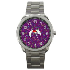 Your Heart Has Wings so Fly - Updated Sport Metal Watch