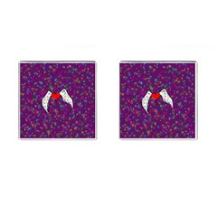Your Heart Has Wings so Fly - Updated Cufflinks (Square)